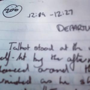 Hobbit Notebook Page 200